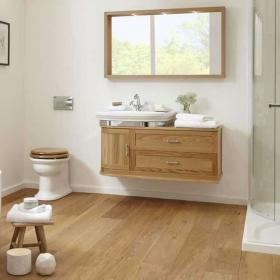 Photo of Imperial Carlyon Thurlestone Wall Hung Offset Vanity Unit & Basin