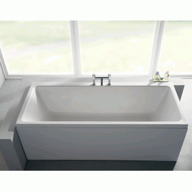 Carron Quantum 1700 x 800mm Double Ended Bath