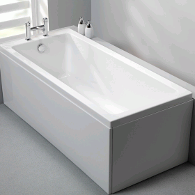 Carron Quantum 1700 x 900mm Single Ended Bath