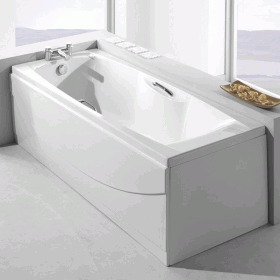 Carron Imperial 1600 x 700mm Single Ended Bath