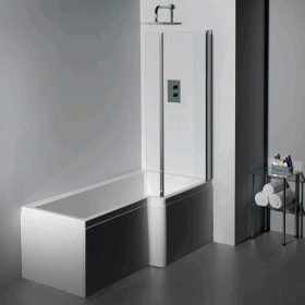 Carron Quantum Square 1600 x 700mm Shower Bath