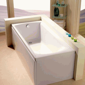 Carron Sigma 1700 x 800mm Single Ended Bath