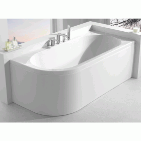 Carron Status 1600 x 725mm Double Ended Bath