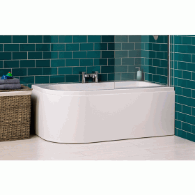 Carron Status 1550 x 850mm Shower Bath