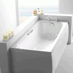 Photo of Carron Swallow 1700 x 700mm Single Ended 8mm Acrylic Bath
