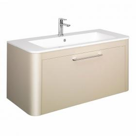Bauhaus Celeste Calico 110 Vanity Unit & Ceramic Basin