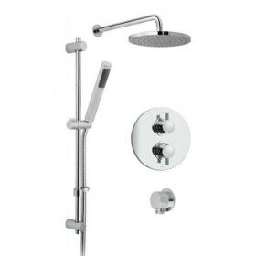 Vado Celsius Concealed Twin Outlet Thermostatic Shower Valve Pack