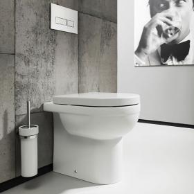 Photo of Bauhaus Central Back to Wall WC & Soft Close Seat