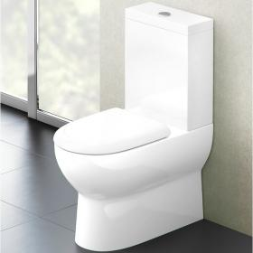 Britton Compact Close Coupled WC & Soft Close Seat