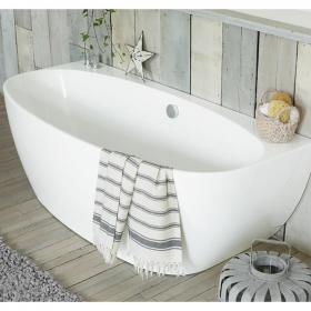 Waters I-Line Cove 1700mm Back-To-Wall Bath