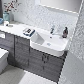 Roper Rhodes Cover 560mm Semi Countertop Basin