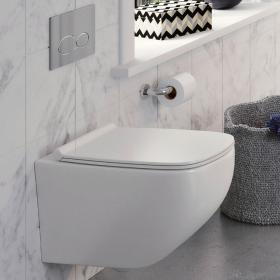 Photo of Crosswater Infinity Rimless Wall Hung WC & Soft Close Seat