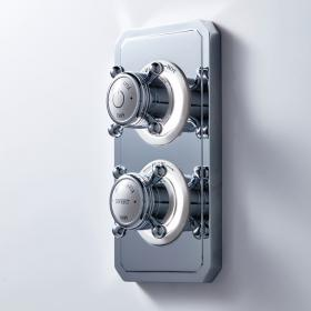 Crosswater Belgravia Crosshead Dual Outlet Digital Shower Valve - High Pressure