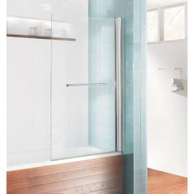 Photo of Simpsons Design Single Bath Screen With Rail
