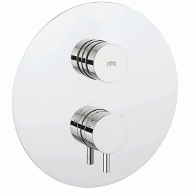 Crosswater Dial Round Thermostatic Shower Valve