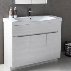 Roper Rhodes Diverge Alpine Elm 1000mm Freestanding Unit & Basin