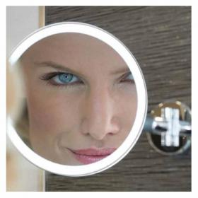 HIB Eclipse Round LED Magnifying Mirror