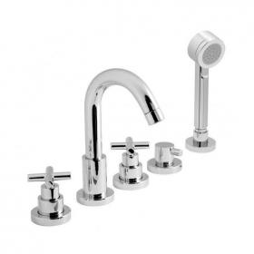 Vado Elements 5 Tap Hole Bath Shower Mixer