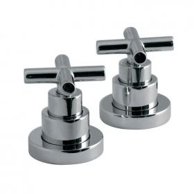Vado Elements Pair of Deck Mounted Stop Valves