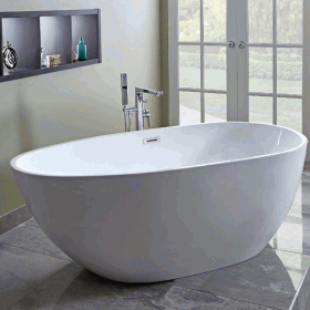 Photo of Phoenix Elipse 1700 x 800mm Freestanding Bath