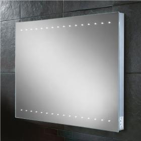 HIB Epic LED Bathroom Mirror with Charging Socket
