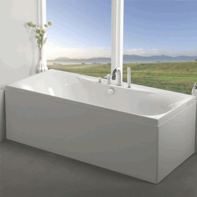 Carron Equity 1700 x 750mm Double Ended Bath