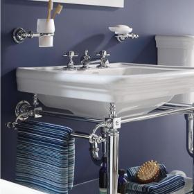 Photo of Imperial Etoile Vergennes Chrome Medium Basin Stand