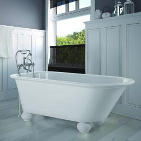 BC Designs 1715mm Fitzroy Freestanding Bath with Feet