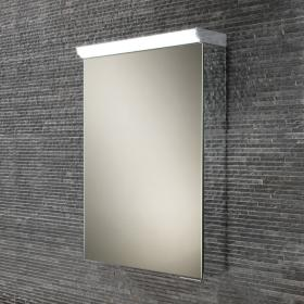 HIB Flux LED Aluminium Bathroom Cabinet with Mirror Sides