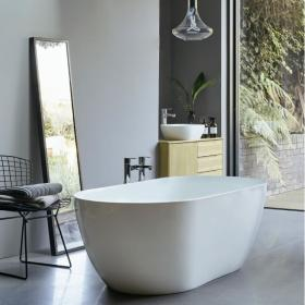 Clearwater Formoso Grande 1690mm Clearstone Freestanding Bath