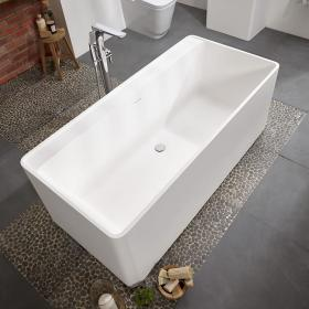 Frontline Cabanes Freestanding 1700 x 800mm Double Ended Bath