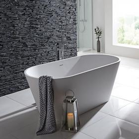 Frontline Stone Freestanding 1700 x 800mm Double Ended Bath