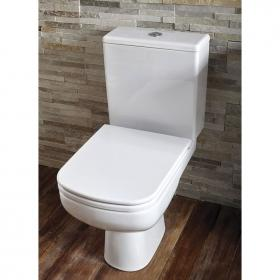 Frontline Ballini Rimless WC with Soft Close Seat