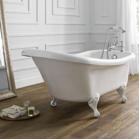 Frontline Holborn Camden 1500 x 750mm Single Ended Slipper Bath