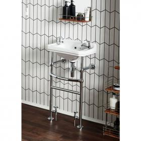 Photo of Frontline Holborn 500mm Basin & Heated Washstand