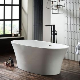 Frontline Ion Freestanding 1700 x 800mm Double Ended Bath