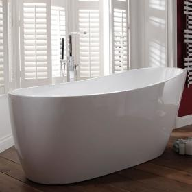 Frontline Pano 1500 x 735mm Luxury Freestanding Slipper Bath