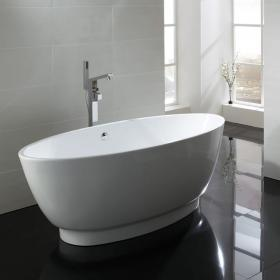 Frontline Pure 1785 x 775mm Double Ended Freestanding Bath