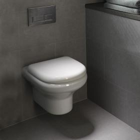 Photo of Rak Compact Wall Hung WC with Soft Close Seat