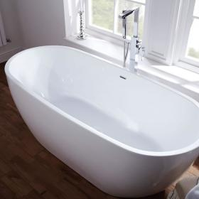 Frontline Summit Freestanding 1680 x 800mm Double Ended Bath