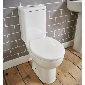 Photo of Frontline Valore Close Coupled WC with Soft Close Seat