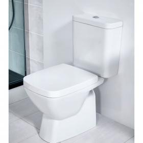Frontline Vibe Close Coupled WC with Soft Close Seat