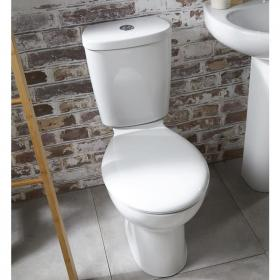 Frontline Xclusive Close Coupled Toilet with Soft Close Seat