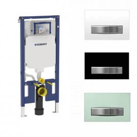 Geberit Duofix Reduced WC Frame Inc Sigma50 Flush Plate