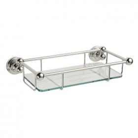 Photo of Perrin & Rowe Traditional 260mm Glass Shelf