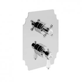 Heritage Glastonbury Recessed Shower Valve Chrome Finish