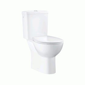 Grohe Bau Close Coupled WC with Cistern & Soft Close Seat