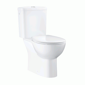 Grohe Bau Rimless Close Coupled WC with Cistern & Soft Close Seat