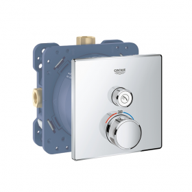 Grohe Grohtherm SmartControl Single Outlet Thermostatic Square Shower Valve