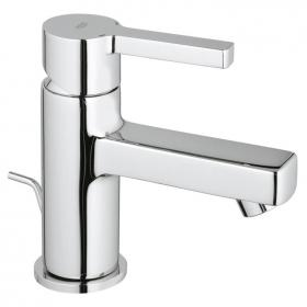 Grohe Lineare Small Basin Mixer Tap Inc Waste